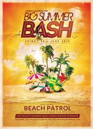 Design Cloud: Big Summer Bash Flyer Template