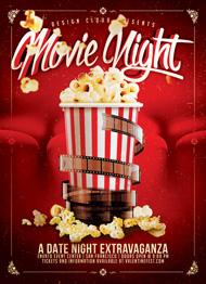 Design Cloud: Movie/Date Night Flyer Template